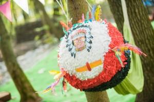 пиньята в стиле индейцы