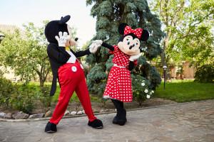 ростовые куклы на праздник Микки и Мини маус