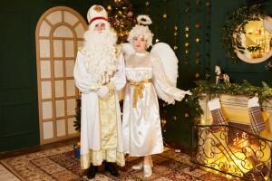 Святой николай и Ангел