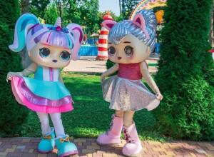 гигантские куклы ЛОЛ2